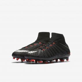 Детские бутсы NIKE HYPERVENOM PHANTOM 3 DF FG 882087-001 JR